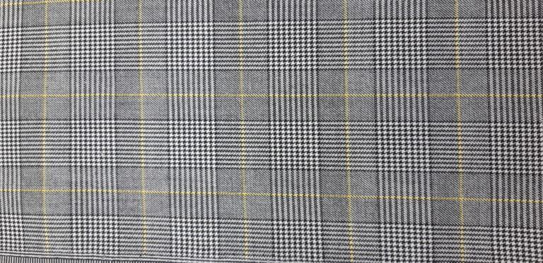 С-44 арт.19-312 серый желтая клетка (48-58) 1500