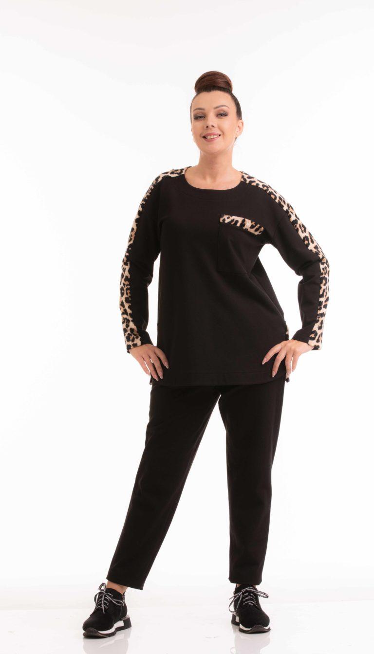 БЛ-604-2 арт.19-423 черн.леопард (44-62) 1250+ С-45 арт.19-415 академик-флис (44-62) 950