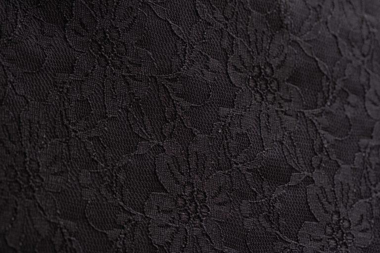 Ю-01 арт.19-405,19-404 черный гипюр